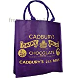 Cadbury's Dairy Milk Purple Wrapper Reusable Shopping Bag