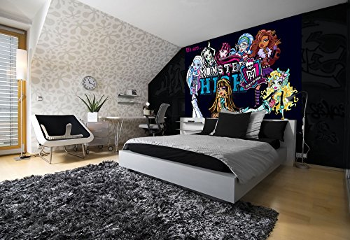 monster-high-foto-carta-da-parati-foto-carta-da-parati-murale-tessuto-non-tessuto-xxl-310-x-219-m-3-