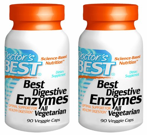 Doctors Best Digestive Enzymes 90 Count Multi-pack