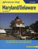 American Map Maryland / Delaware State Road Atlas