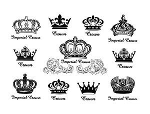 Amazon.com : Various Queen King Crown Finger Hand