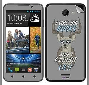 GsmKart HD516 Mobile Skin for HTC Desire 516 (Grey, Desire 516-628)