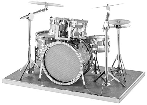 Fascinations Metal Earth 3D Laser Cut Model - Drum Set - 1