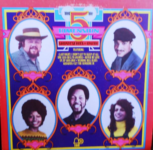 The 5Th Dimension The Greatest Hits On Earth Original Bell Records Stereo Release Bell 1106 1970'S Pop Vinyl (1972)
