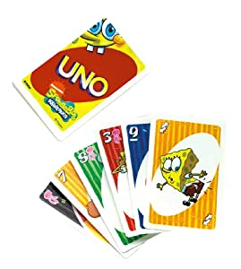 Spongebob Squarepants Uno Card Game by Mattel