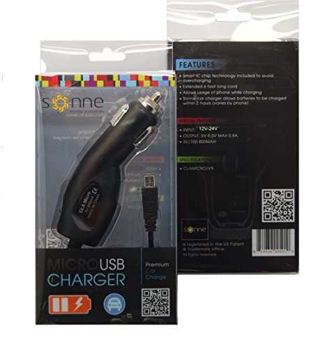 Micro (V9) Usb Premium Car Charger