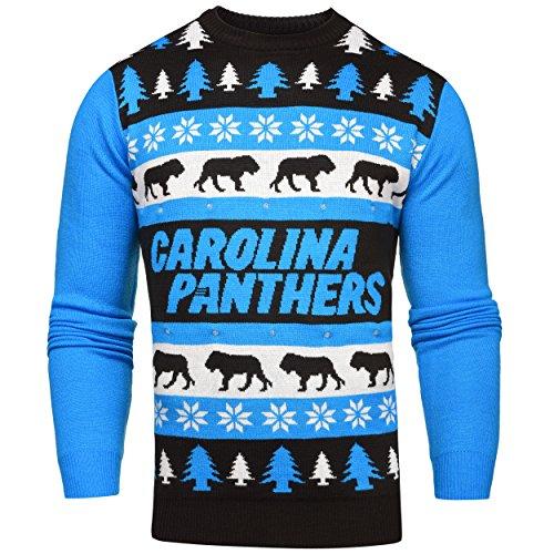 Carolina Panthers Light Up Sweater