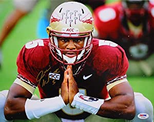 JAMEIS WINSTON SIGNED FLORIDA STATE SEMINOLES 11x14 PHOTO PSA DNA #T52896