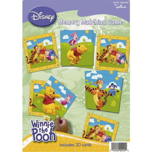 Pooh and Friends Party Supplies Memory Matching Game
