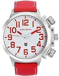 John Smith White Dial Analog Watch For Men - JS21005_R
