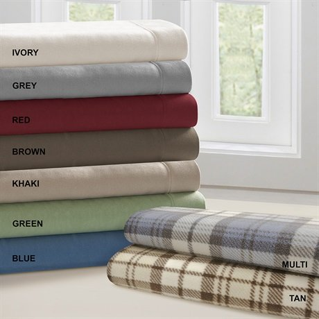 Micro Fleece Polyester Sheet Set Size: Full front-791230