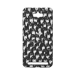 BLUEDIO Designer 3D Printed Back case cover for Asus Zenfone Max - G3184