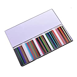 Imported 50 Color Art Drawing Pencils Non-Toxic Oil Base Colorful Pencils for Artist