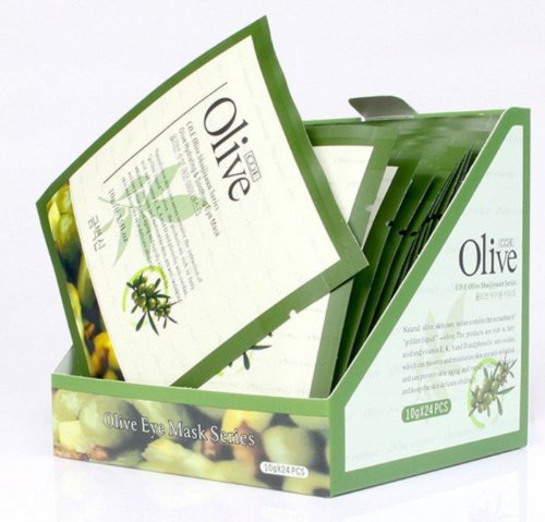 Replenish Collagen, Olive Tight Elastic Face Mask ,Elastic Fibers 30G 10 Pcs.