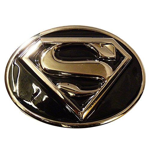 Superman - Fibbia cintura - Unisex - Adulto Nero  nero taglia unica