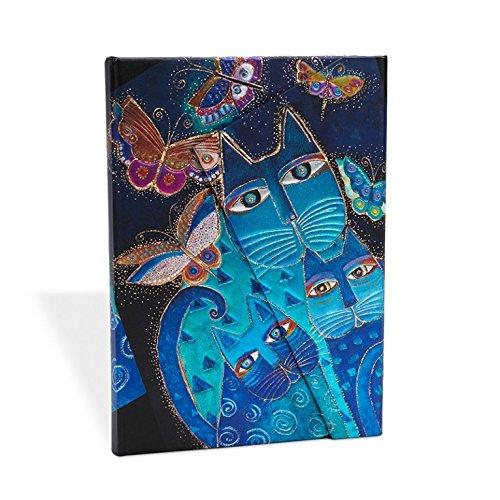 Blue Cats & Butterflies Wrap Journal (Paperblanks: Fantastic Felines)