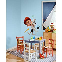 RoomMates RMK2631GM Mr. Peabody and Sherman Peel and Stick Giant Wall Decals