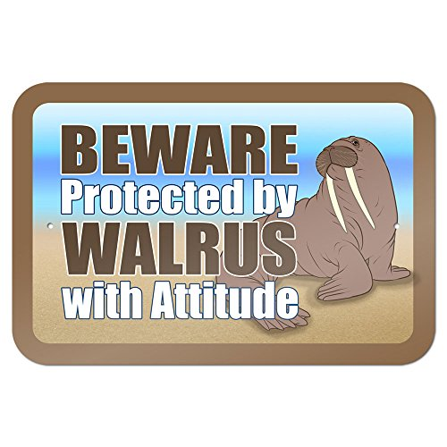 Beware Protected by Walrus with Attitude 9