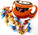 Coffee Cup Gift Boxed Nips Candies - Chocolate Parfait, Caramel & Coffee Flavors