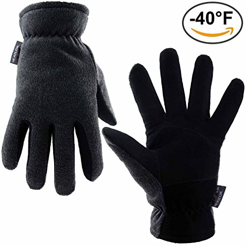 Winter-Gloves-OZERO-40F-Cold-Proof-Thermal-Glove-Deerskin-Suede-Leather-Palm-and-Polar-Fleece-Back-with-Heatlok-Insulated-Cotton-Layer-Keep-Warm-in-Cold-Weather-DenimTanGray-SMLXL