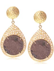 Made By M Drop And Dangler Earring For Women (Gold) (MBM-EAR-048)