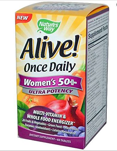 natures-way-alive-once-daily-womens-50-ultra-potency-multi-vitamin-whole-food-energizer-60-tablets