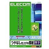 ELECOM マット紙 厚手 A4サイズ 100枚入り EJK-SAA4100