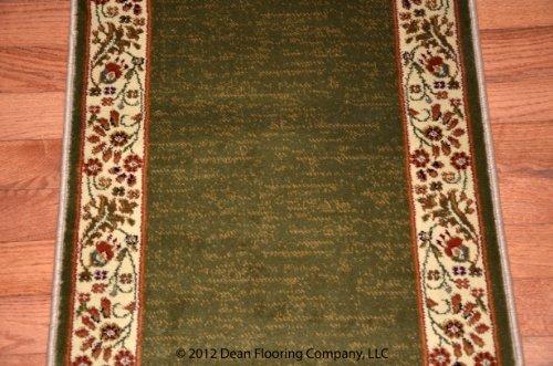 Dean Flooring Company Talas Floral Green Premium Carpet
