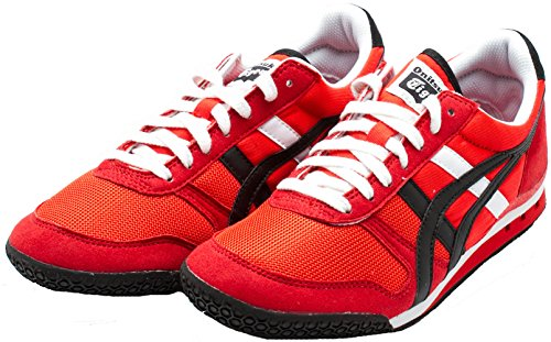 Onitsuka Tiger by Asics Unisex Ultimate 81? Fiery Red Sneaker Men's 11 Medium