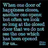 One Door - Helen Keller Color Magnet