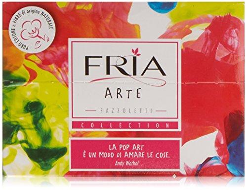 Fria Fazzoletti 100% cottone - 6 unità