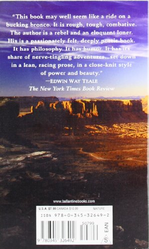 desert solitaire a season in the Desert solitaire: a season in the wilderness was written by edward abbey, and first published in 1968 the book is autobiographical and follows abbey through one .
