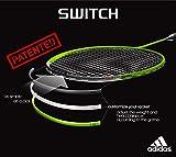 アディダス adidas バドミントンラケットswitch for Switch Pro and Tour 2g 黒色