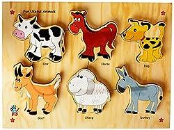 Skillofun Fun ID - Useful Animals (Raised), Multi Color