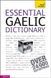 img - for Essential Gaelic Dictionary: A Teach Yourself Guide (TY: Dictionaries) book / textbook / text book