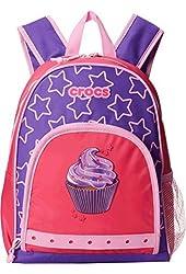 Crocs Unisex Preschool Little Kids Bakpack (Cupcake (Purple))