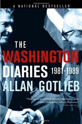 The Washington Diaries: 1981-1989