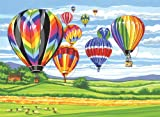 Reeves Hot Air Balloons Large Acrylic Paint By Numbers Set