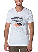 CANADIAN PEAK Camiseta Manga Corta Jazfic (Blanco)