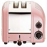 Dualit Classic 2-Slice Toaster, Petal Pink