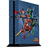 Justice League PS4 Console Skin - Justice League Heroes | DC Comics X Skinit Skin (Color: Blue, Tamaño: Large)