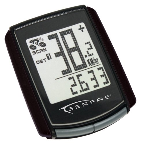Serfas Level 4.4 Wireless Bicycle Computer
