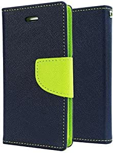 Moblo Flip cover ( Blue Green ) for HTC 526