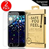 BTGGG iPhone 7 Screen Protector, [2 pack] 0.2mm 2.5D [3D Touch Compatible] Tempered Glass Screen Protector for iPhone 7/ iPhone 6/6s [Bubble Free Anti-Fingerprint Easy Installation]
