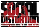 Licenses Products Social Distortion Logo Sticker by C&D Visionary Inc.