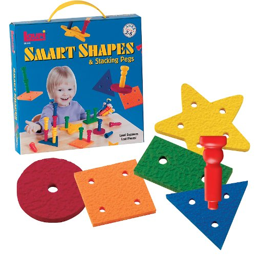 Picture of Fun Smart Shapes & Pegs (B002YWW7C6) (Pegged Puzzles)