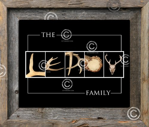 Personalized Alphabet Wall Art front-1038439
