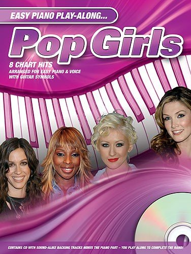 Easy Piano Play-Along: Pop Girls