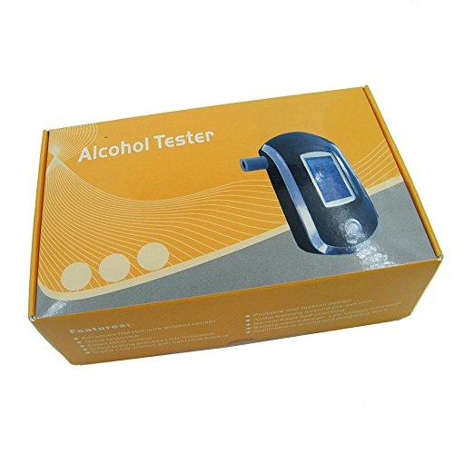 OBEST Police Digital Alcohol Testeur d'haleine Professionnel Éthylotest