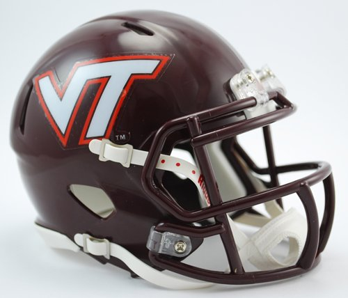 Creative Sports Enterprises, Inc RC-VIRGINIA-TECH-MR-Speed Virginia Tech Hokies Riddell Speed Mini Football Helmet by Creative Sports Enterprises